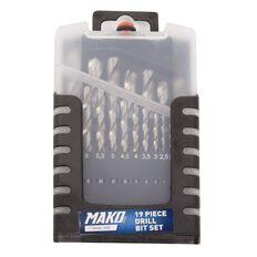 Mako Drill Bit Set 19 Piece