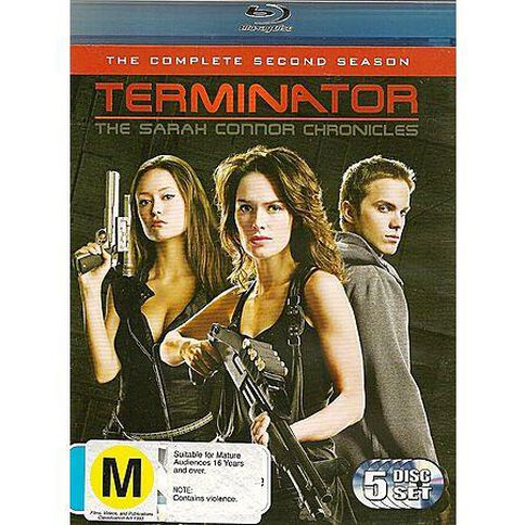 Sarah Connor Chronicles Season 2 (Blu-ray) 6 Blu-ray Discs