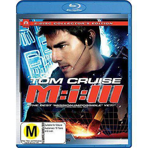 Mission Impossible 3 Blu-ray 1Disc