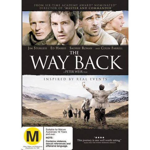 The Way Back DVD 1Disc