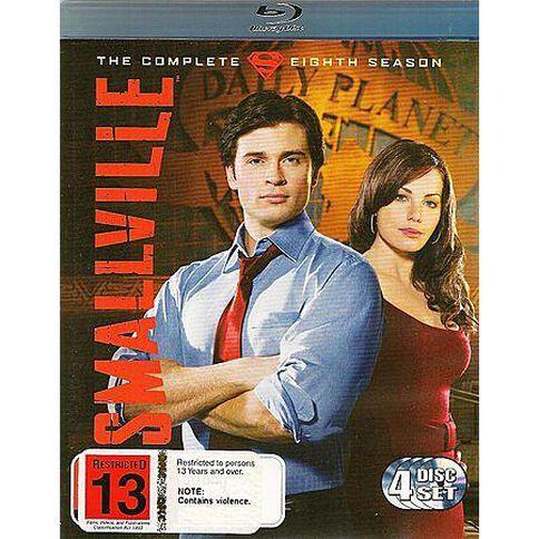 Smallville Season 8 Blu-ray 4Disc