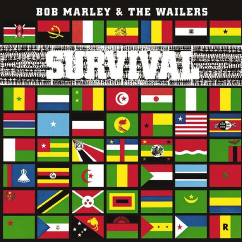 Survival CD by Bob Marley 1Disc