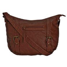 Debut Double Buckle Handbag
