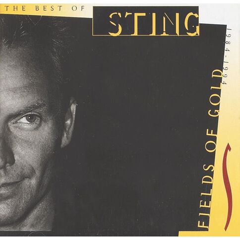 Fields Of Gold Greatest Hits CD by Sting 1Disc