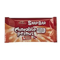 Waikato Valley Chocolates Chocolate Peanut Snap Bar 40g