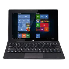Windows Windows 10 2-in-1 Tablet with Hard Keyboard