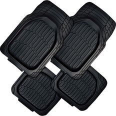 Auto FX Car Mat Rubber Heavy Duty Set 4 Piece