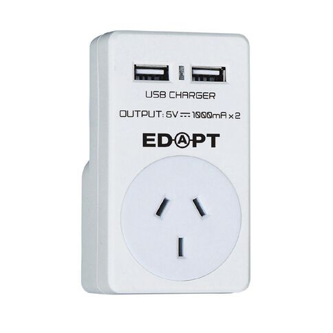 Edapt Single Adapter with USB
