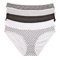 H&H Women's Bikini Briefs 5 Pack