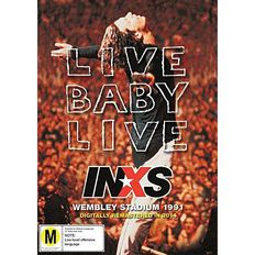 Inxs Live Baby Live DVD 1Disc