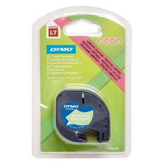 Dymo Letratag Neon Tape 2 Pack