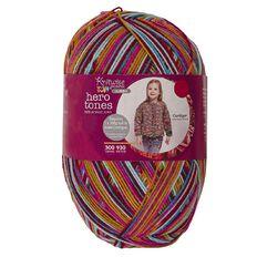 Knitwise Pricewise Yarn Hero Tones Jumbo 8-Ply Salsa 300g