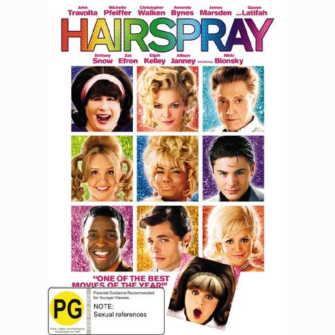 Hairspray DVD 1Disc