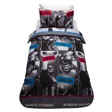 Avengers Duvet Cover Set Fearless