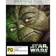 Star Wars Steelbook Episode 2 Blu-ray 1Disc