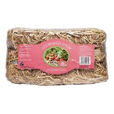 Kiwi Garden Strawberry Straw Compressed Bale 5L