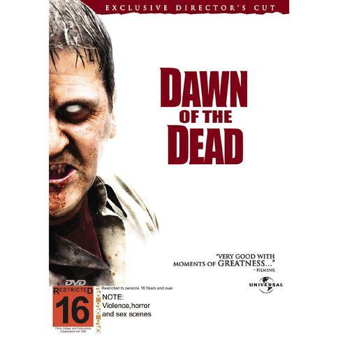 Dawn of The Dead Directors Cut DVD 1Disc