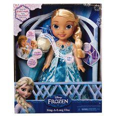 Disney Frozen Sing Along with Elsa Toddler Doll