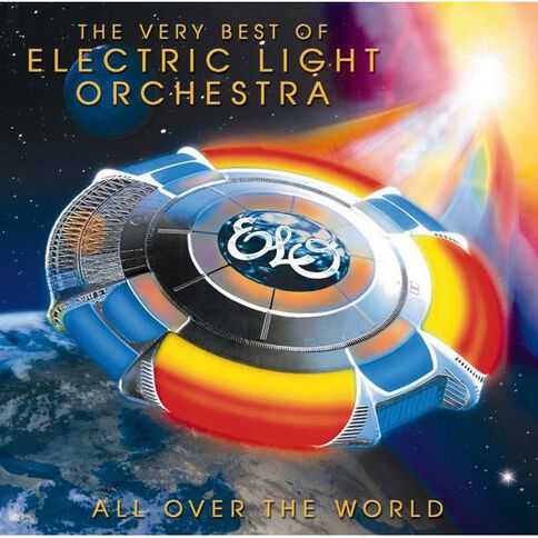 All Over the World CD by ELO 1Disc