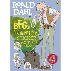 BFG's Gloriumptious Sticker Activity Book by Roald Dahl
