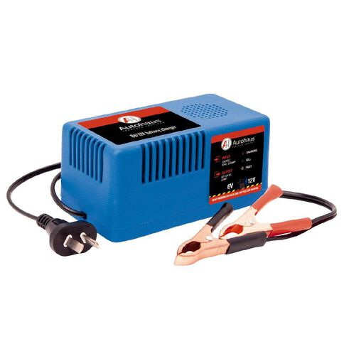 Autohaus Battery Charger AHBC-2M Manual 6V/12V 2.0amp