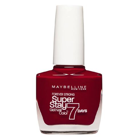 Maybelline Super Stay 7 Day Gel Nail Colour Deep Red