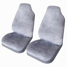 Auto FX Car Seat Cover Fake Fur Front Pair High Back