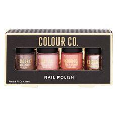Colour Co. Nail Polish Neutral Colours 4 Pack