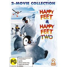 Happy Feet 1 & 2 DVD 2Disc