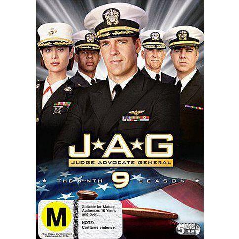 Jag Season 9 DVD 5Disc