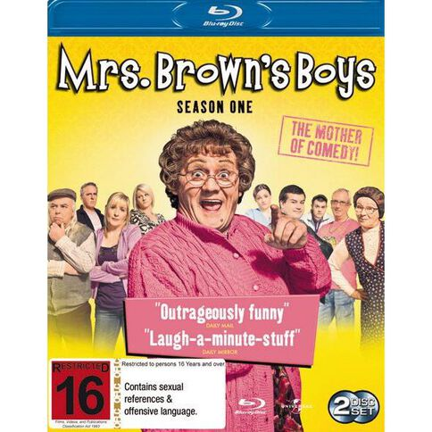 Mrs Browns Boys S1 Blu-ray 1Disc