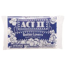 Act II Popcorn Butter Lovers 78g
