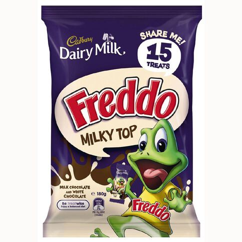 Cadbury Dairy Milk Freddo Milky Top Treat Size 180g
