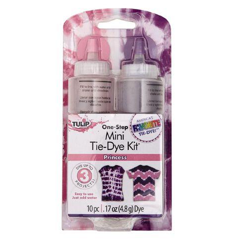 Tulip Tie-Dye 2 Colour Mini Pink and Purple Kit
