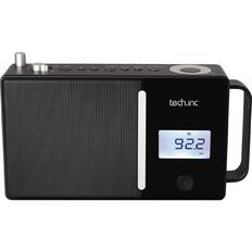 Tech.Inc Bluetooth Speaker with FM Radio TI3295 Black