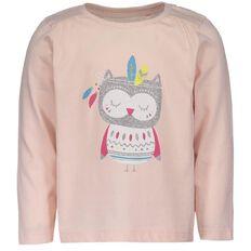 Basics Brand Toddler Girl Print Tee