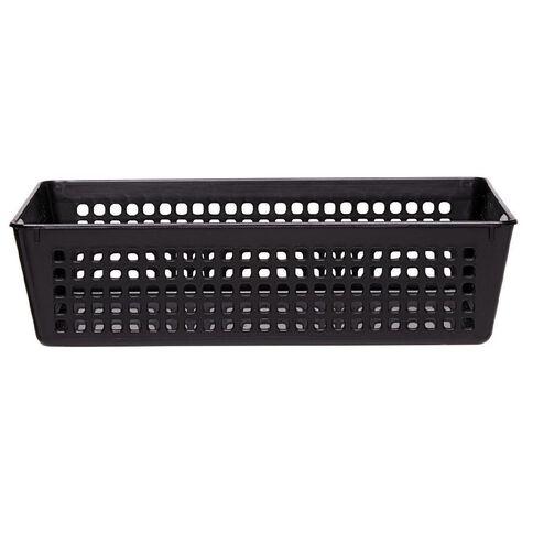 Taurus Plastic Tray Black Medium