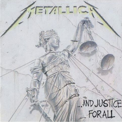 And Justice For All CD by Metallica 1Disc