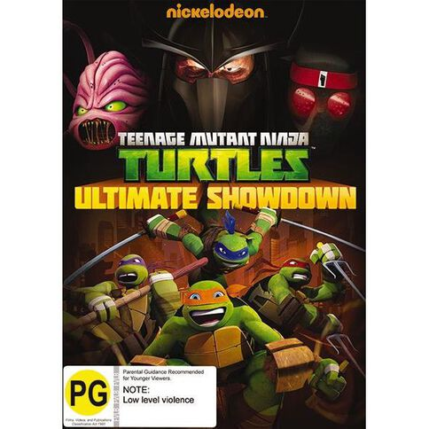 Teenage Mutant Ninja Turtles Ultimate Showdown DVD 1Disc