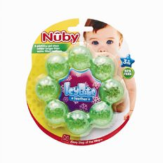 Nuby IcyBite Ring Teether Assorted Colours