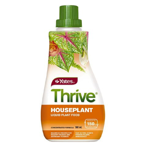 Yates Thrive Liquid Concentrate Houseplant 500ml