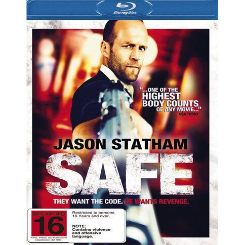 Safe Blu-ray 1Disc