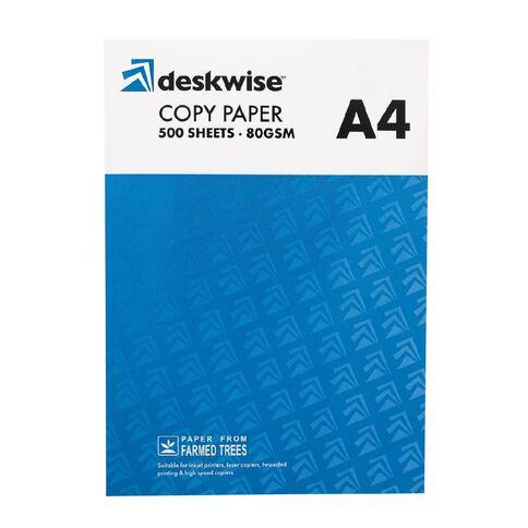 Deskwise Photocopy Paper Ream A4 White 80gsm