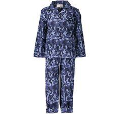 Basics Brand Boys' Packaged Flannelette Pyjamas