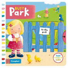 Busy Park Board Book by Rebecca Finn