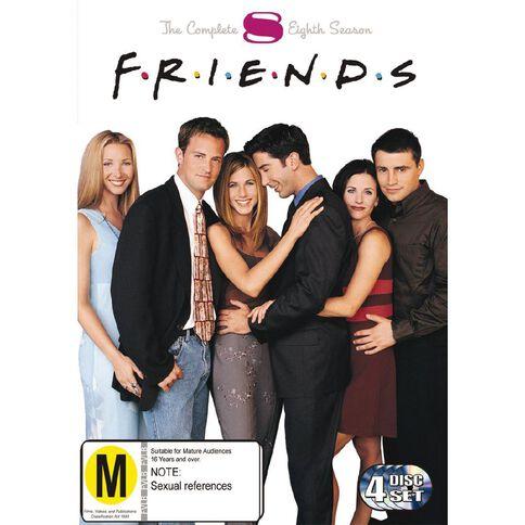 Friends Season 8 DVD 4Disc