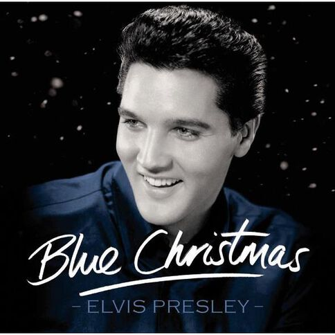 Blue Christmas CD by Elvis Presley 1Disc