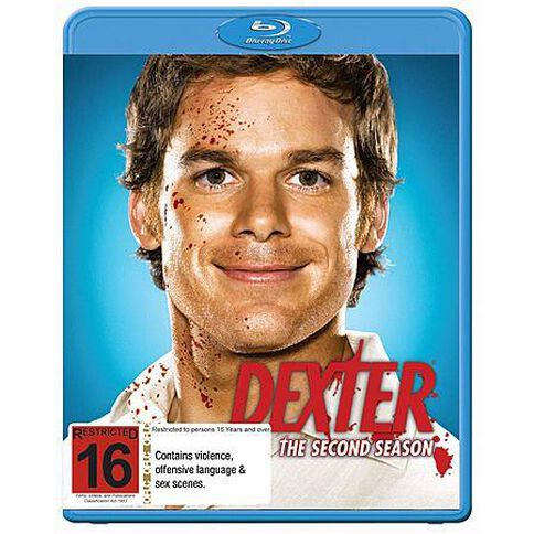 Dexter Season 2 Blu-ray 1Disc