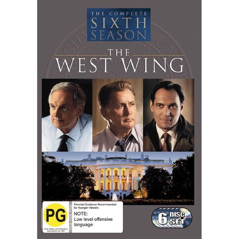 The West Wing Season 6 DVD 6Disc