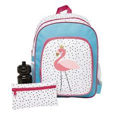 Basics Brand Print Backpack Bundle Set 3 Piece